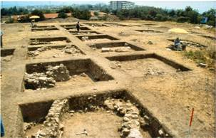 Options of archaeological sites and laboratories