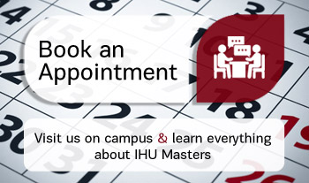 Visit us on campus and learn everything about IHU Masters