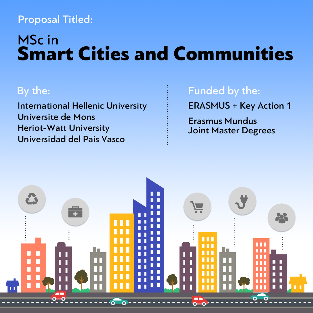 MSc in Smart Cities and Communities' to be funded by