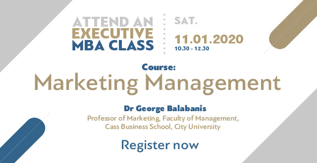 Experience the Executive MBA by attending a class!